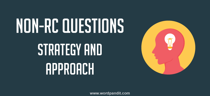 strategy for CAT non-RC questions