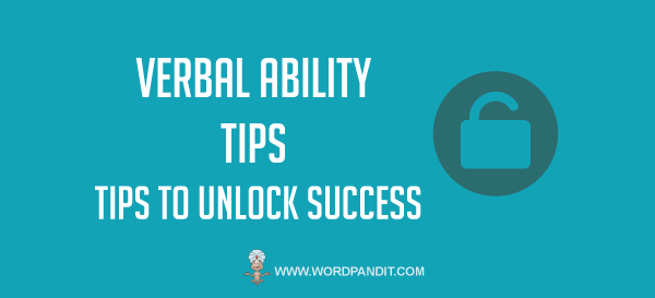 CAT Verbal Ability Tips