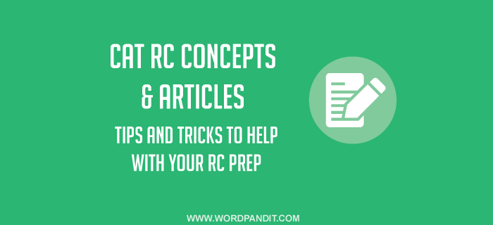 How to approach different CAT RC question types?
