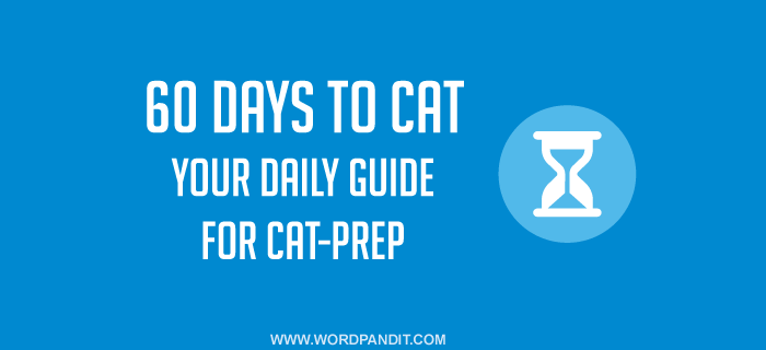 60 Days to CAT-2017: Strategy Guide