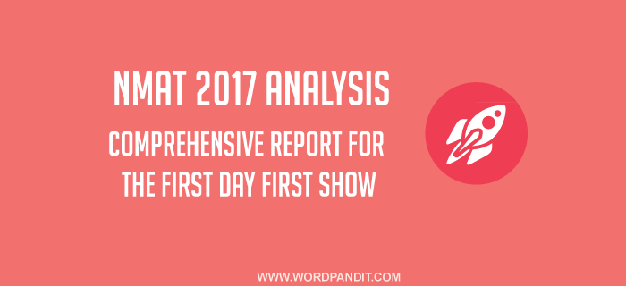NMAT 2017 Analysis