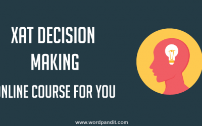 XAT 2020 Decision Making: Free Online Course