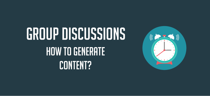 GDs: How to Generate Content?