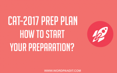 How to start your Prep for CAT-2017?
