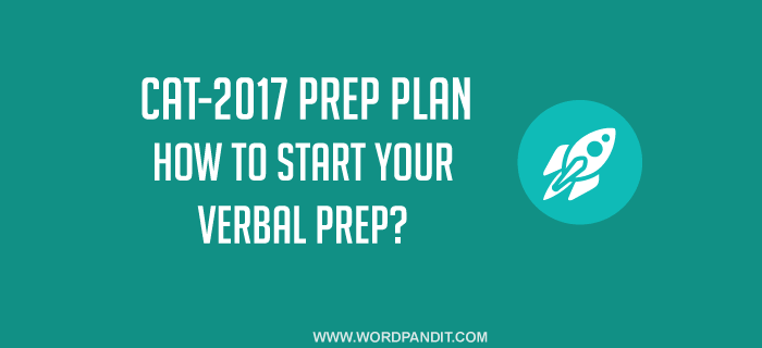 How to start your preparation for the CAT Verbal Ability section?