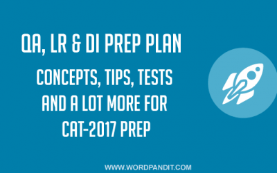 QA, LR & DI CAT-2017 Prep Plan: Day-7
