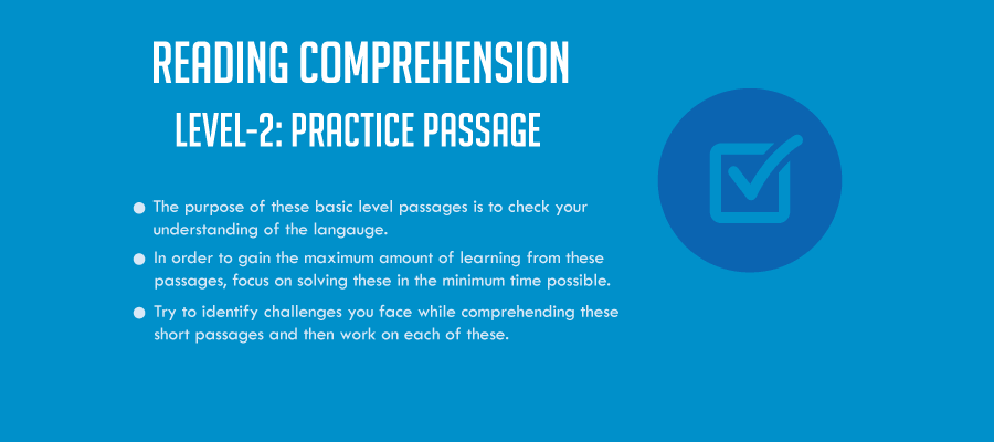 RC (Level-2): Passage-3