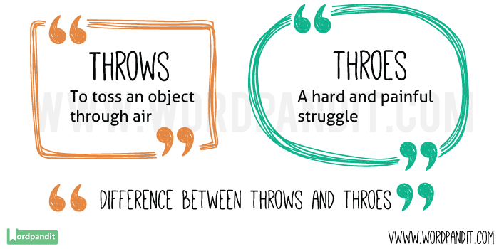 Throws-vs-Throes