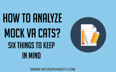 How should you analyse CAT Verbal Ability Mocks?