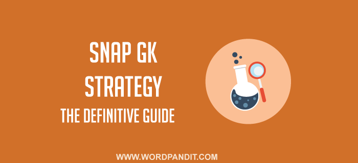 SNAP GK Strategy: 7 hot topics you must study to ace SNAP GK+ all GK questions of SNAP 2016