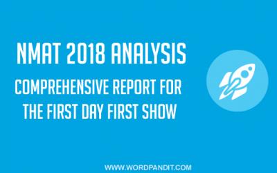 NMAT 2018 Analysis