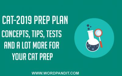 CAT-2019 Preparation Plan: Day-1