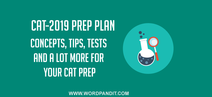 CAT-2019 Preparation Plan: Day-1