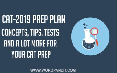 CAT-2019 Preparation Plan: Day-2