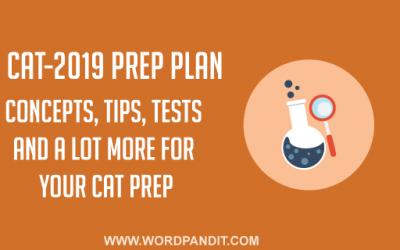 CAT-2019 Preparation Plan: Day-3