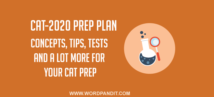 CAT-2020 Preparation Plan: Day-35